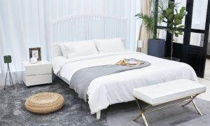 tapijt in de slaapkamer